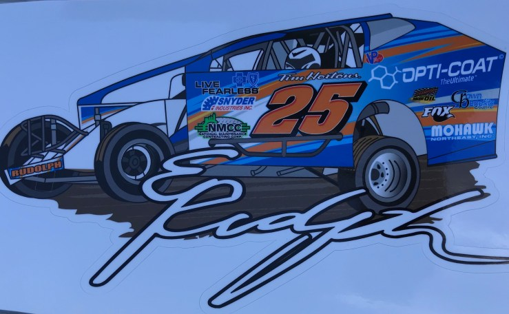 Erick Rudolph Car Decal