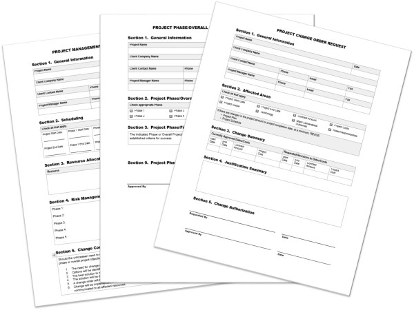 Erick Simpson's Essential Project Forms