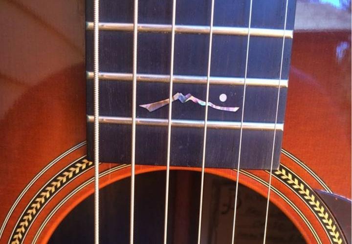 Eric Leadbetter acoustic guitar - Bowerman