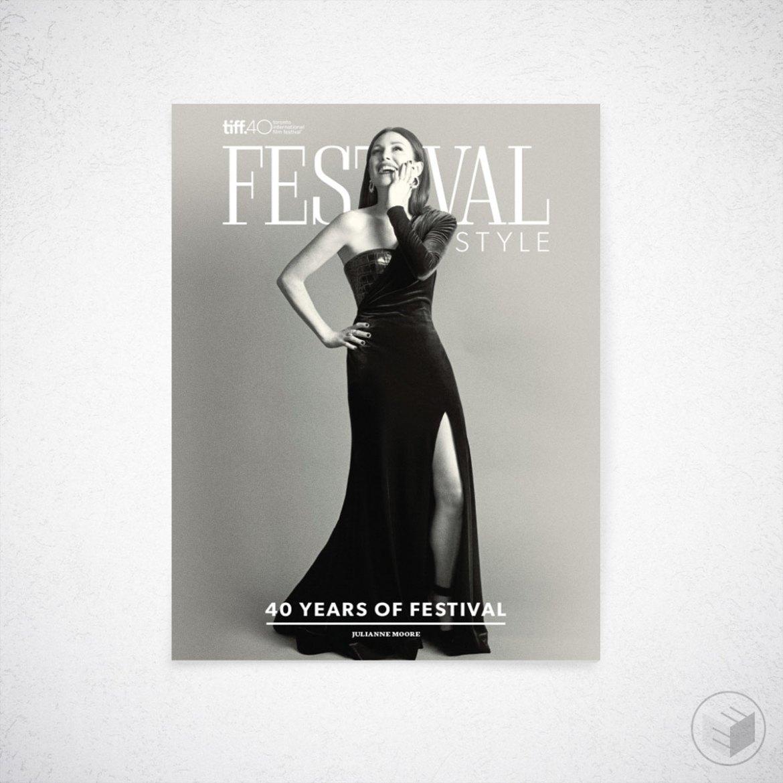 TIFF FESTIVAL STYLE MAGAZINE COVER