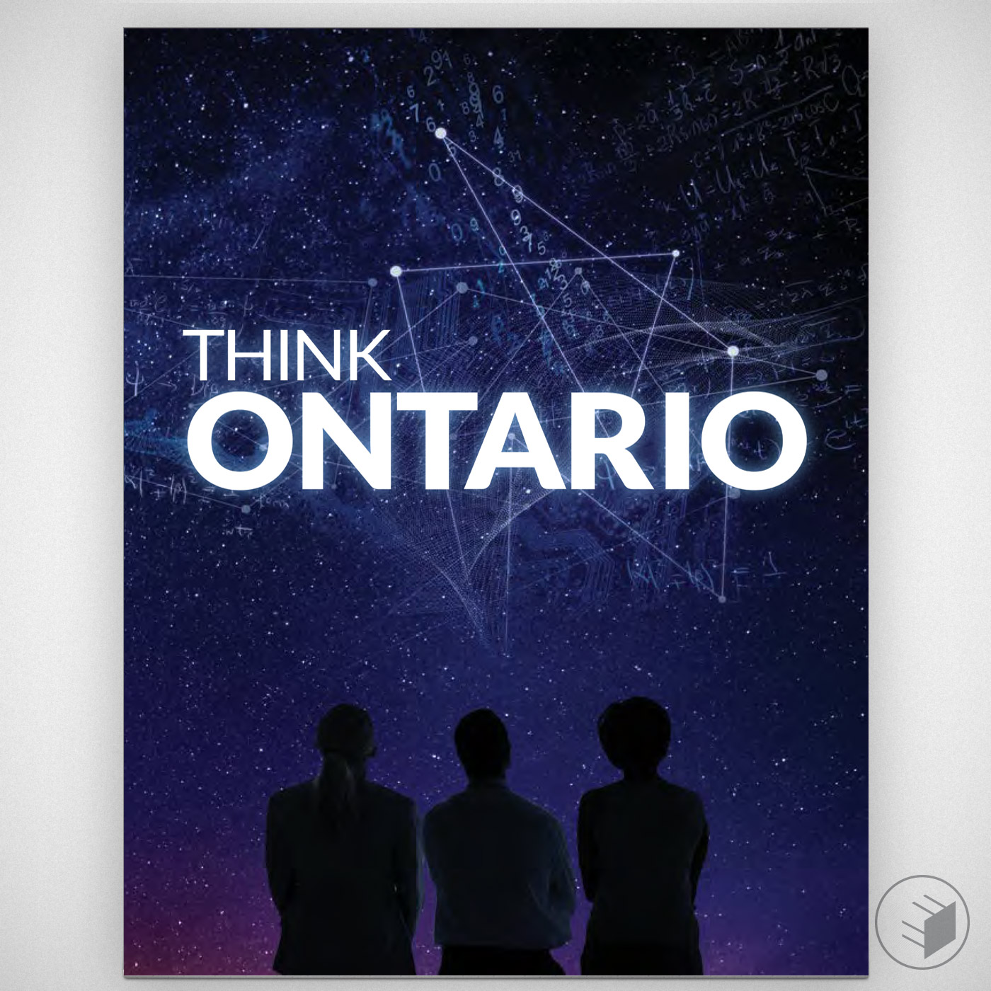 THINK ONTARIO BOOK FOR PROVINCIAL GOVERNMENT, (FREELANCE ART DIRECTION WITH BT/A ADVERTISING)