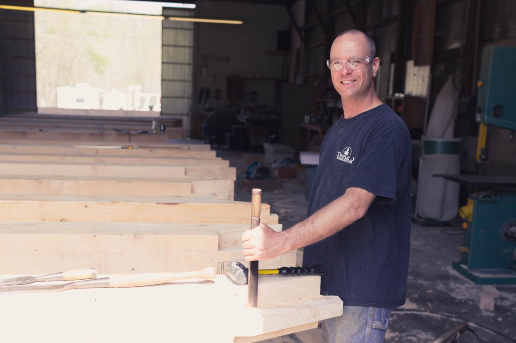 Eric Moerschel Timber frame Craftsman