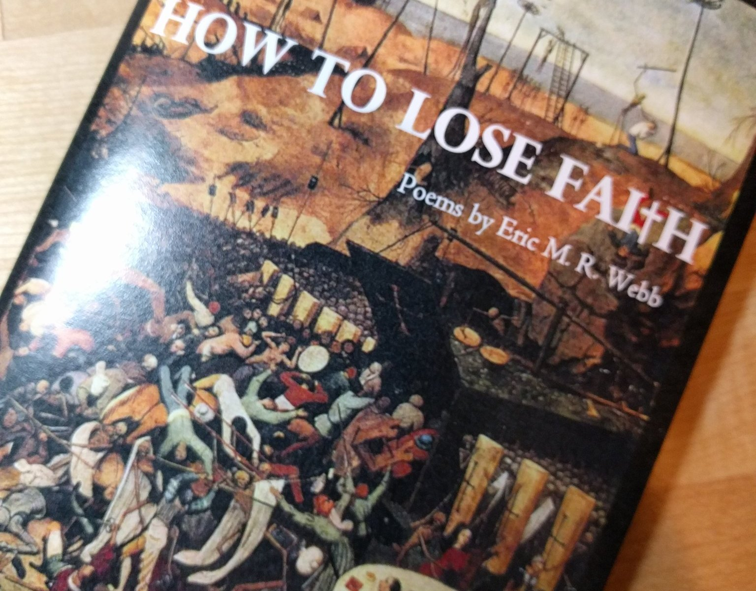 How to Lose Faith - Cover, with art by Heironomous Bosch
