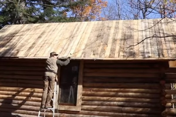 time lapse cabin