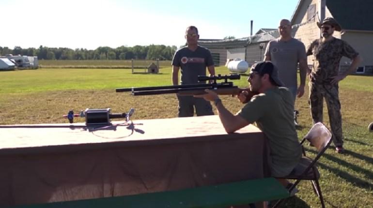 .82 caliber air rifle
