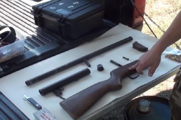 pipe shotgun