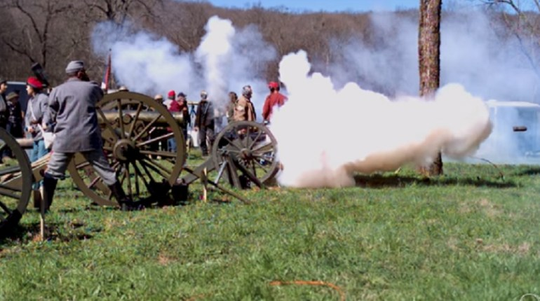 slow motion cannon