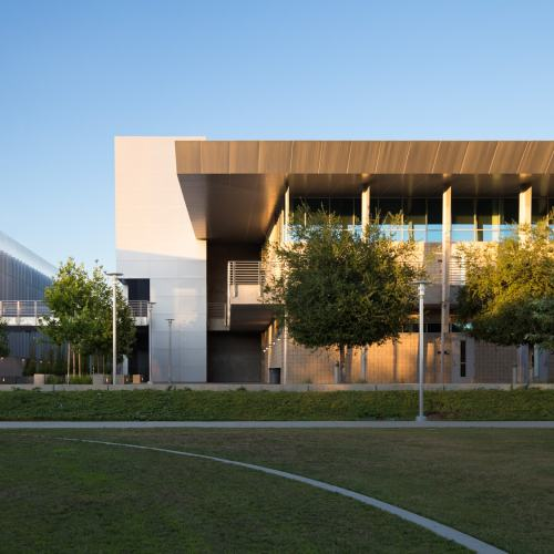 Orange Santiago Science College Architecture Photography