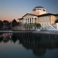 Orange County Architecture Photography Soka University Founders Hall