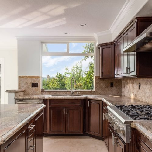 Orange County Real Estate Photography Image of a Kitchen in Laguna