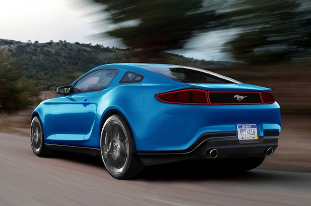2015 Ford Mustang Rear View?