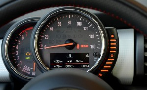'15 Mini gauges close-up