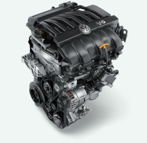 '16 Passat V6 engine
