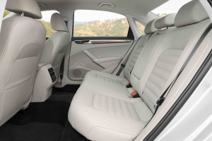 '16 Passat rear seats