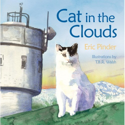 Cat in the Clouds by Eric Pinder and Illustrated by T.B.R. Walsh.