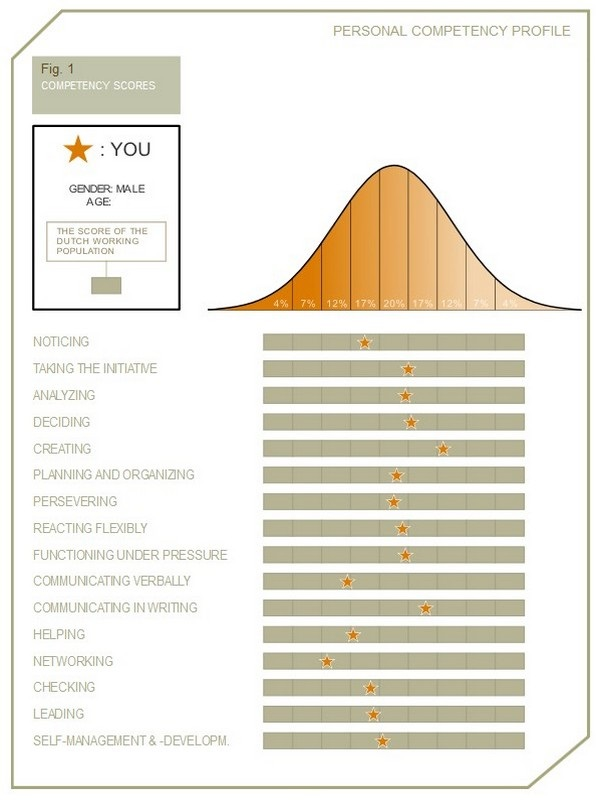 Personal Competency Test Scores