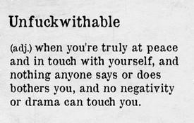 Unfuckwithable - xs