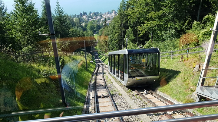 Zugerberg (Ride on Funicular)