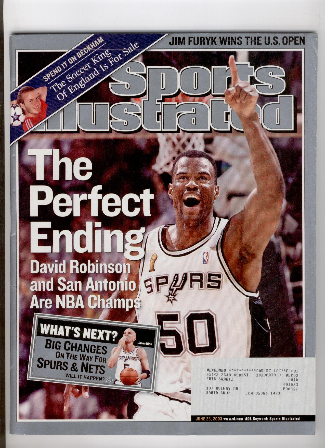 0d65580bfac What if Jason Kidd became a Spur in 2003?   The Sports Daily