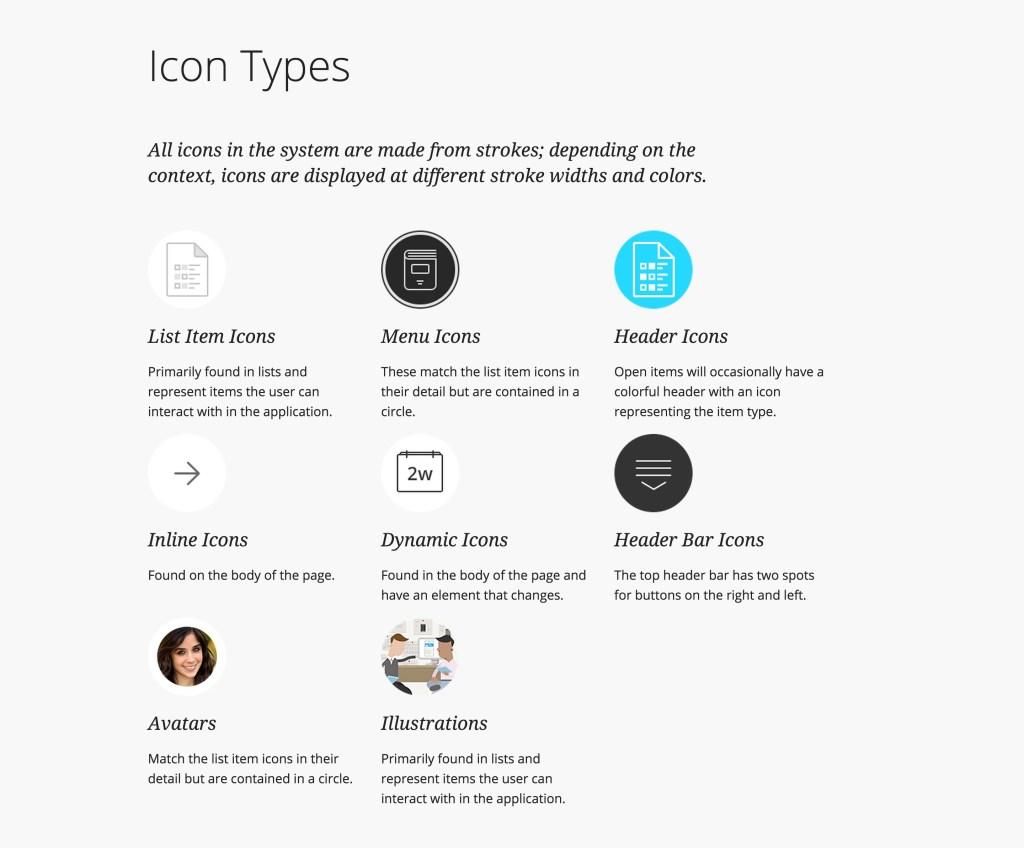 Icon Types