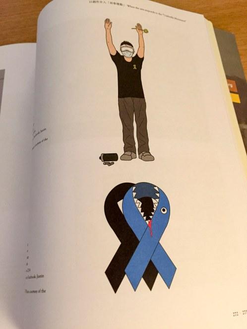 Hands Up and Blue Ribbon, Justin Wong
