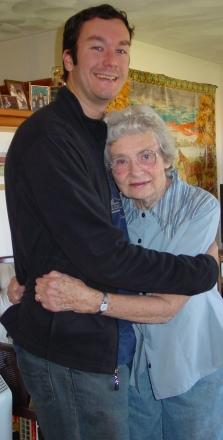 Eric and Grandma Katie