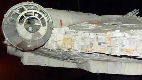 Millennium Falcon cockpit detail