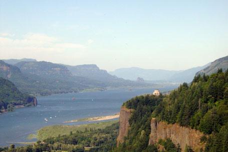 Columbia River Gorge Oregon Overlook