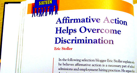 Issues that Concern You Discrimination - Chapter 16 by Eric Stoller