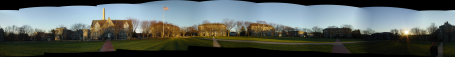 University of Rhode Island - Kingston Rhode Island panoramic photograph