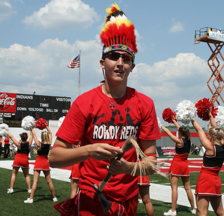 Newberry College Rowdy Reds racist imagery against Native Americans