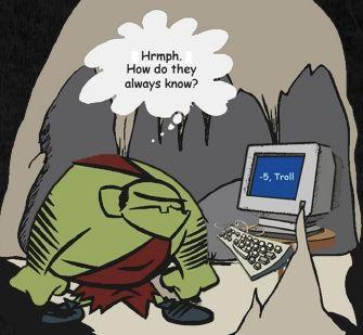 Comment trolls