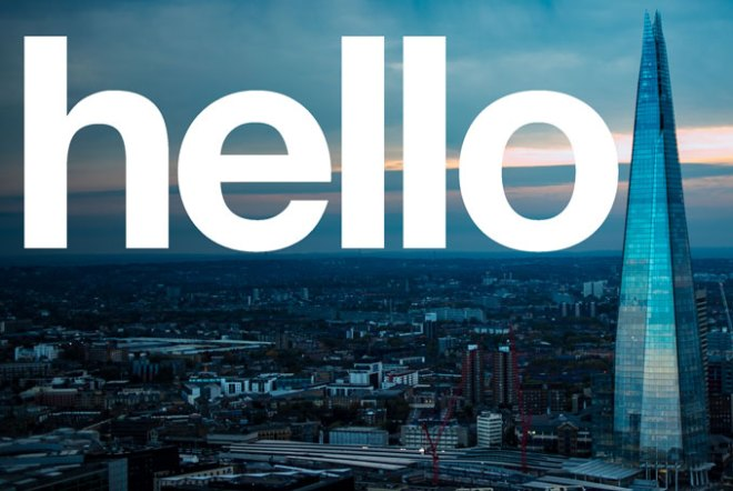 Hello is a reintroduction