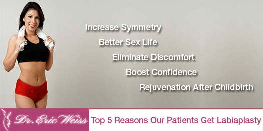 Top 5 Reasons Our Patients Get Labiaplasty