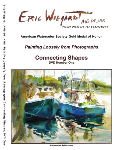 Connecting Shapes DVD by Eric Wiegardt AWS-DF, NWS