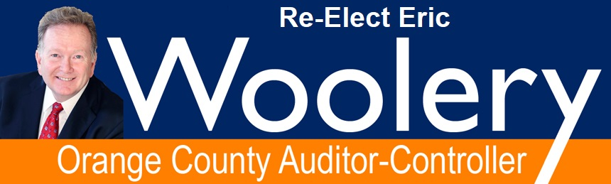 Eric Woolery for Orange County Auditor-Controller