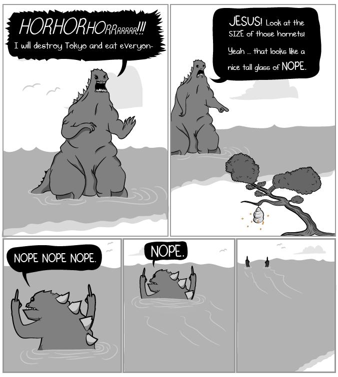 EVERYone hates hornets.