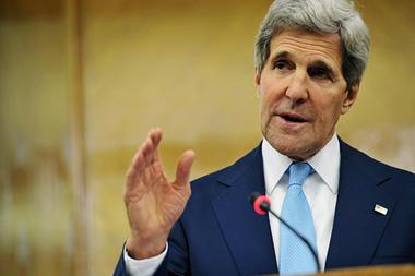 John Kerry nudges Middle East peace process