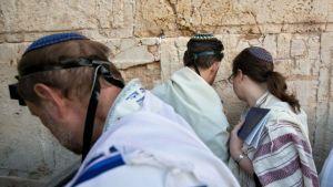 Reform Jews Pray at the Wall