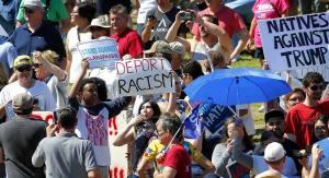Anti-Tump Protesters