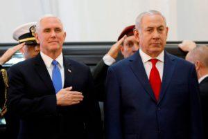 VP Pence with Prime Minister Benjamin Netanyahu