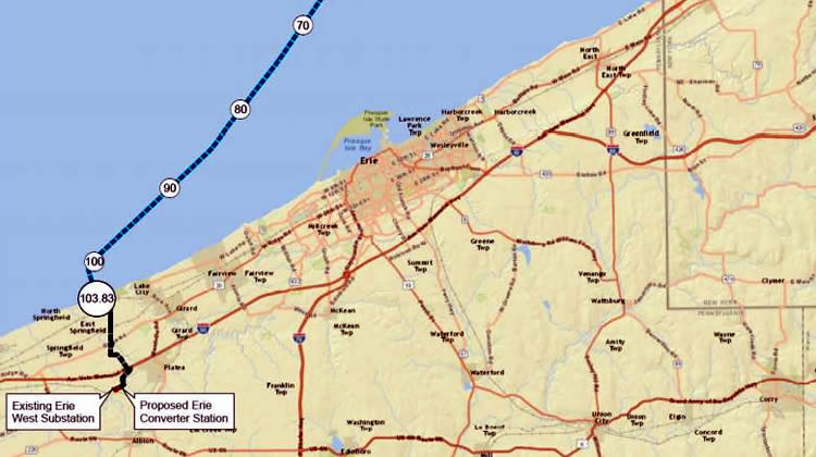 Obama's DOE Gives Last Minute Presidential Permit to Lake Erie Connector