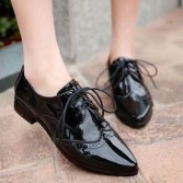 fashion-shiny-pointed-toe-mary-jane-flat-oxford-causal-font-b-shoes-b-font-plus-size34