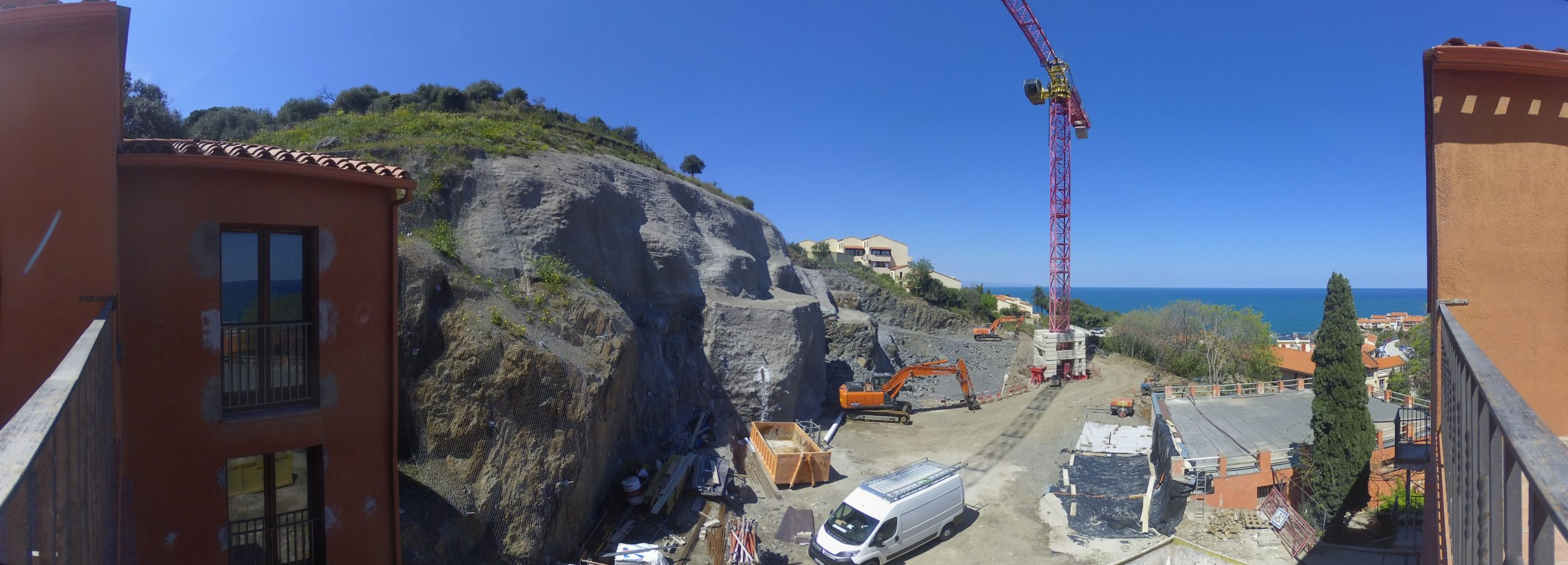 Interface timelapse projet icade Collioure