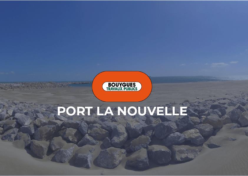 Bouygues TP – Port la Nouvelle