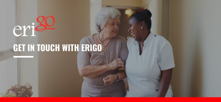 Contact us, Erigo, get in touch, email us, call us