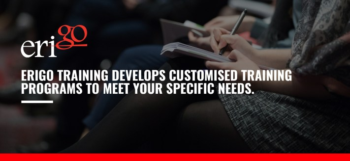 Customised Training solutions