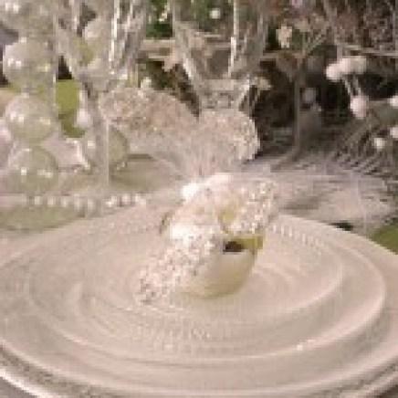 Art de la table - Noël blanc - Erika V.