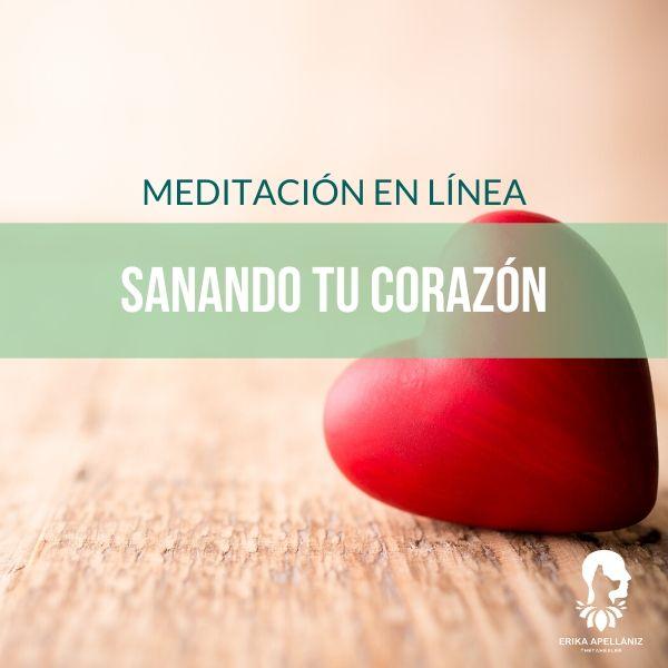 Meditación guiada en línea sanando tu corazón