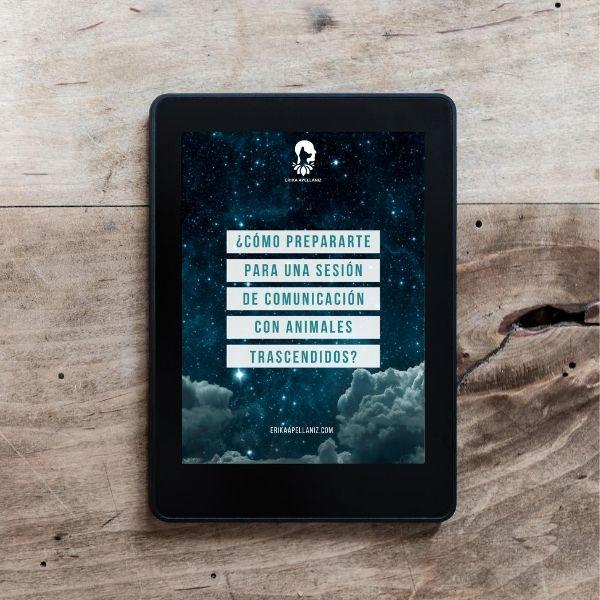 Portada eBook ¿Cómo prepararte para una sesión de Comunicación con Animales Trascendidos?